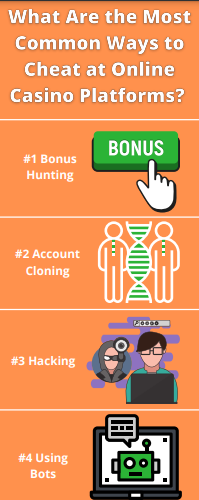 What Are the Most Common Ways to Cheat at Online Casino Platforms?