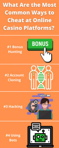 What Are the Most Common Ways to Cheat at Online Casino Platforms